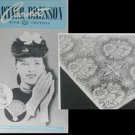 1947 Vintage crochet booklet Cartier Bresson gloves baby potholders and more