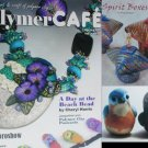 PolymerCafe magazine Spring 05 vol 3 birds jewelry spirt boxes polymer clay designs