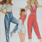 McCall 8000 vintage sewing 1982 pattern pants overalls size 16