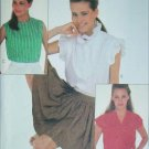 McCall 8069 sewing pattern 1982 buttoned blouse size 12