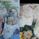 Romantic Ribbon Embroidery McCall craft pattern booklet Vanessa Ann