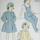 Advance 5260 vingtage 1950s sewing pattern child coat legging hat size 8