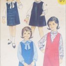 Butterick 3235 sewing pattern girls jumper size 10 breast 28 UNCUT