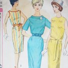 Simplicity 3869 vintage 1950s sewing pattern dress size 16 bust 36