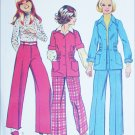 Simplicity 6055 sewing pattern girls unlined jacket and pants size 10 UNCUT