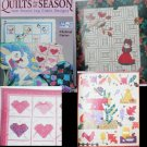 Patchwork Place Quilts for All Seasons Year Round Log Cabin Designs book