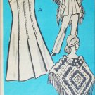 Vintage 1972 sewing pattern dress The Workbasket 9209 size 16 1/2 B 39 UNCUT