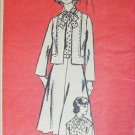 Let's Sew vintage 1977 sewing pattern 4885 dress jacket size 16 1/2 B 39
