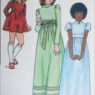 Butterick 6919 girl high waisted dress long or short size 2 B21