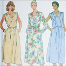 Butterick 6376 sewing pattern misses vest and dress size 8 bust 31 1/2