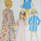 Simplicity 7925 sewing pattern girl nightgown and robe size5 B24