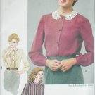 Simplicity 9719 sewing pattern blouses size 16 UNCUT