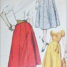 Simplicity 2469 vintage 1958 sewing pattern gored skirt waist 38 1/2