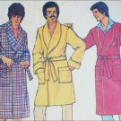 Simplicity 7080 vintage sewing pattern mans robe size large 42 44