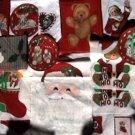 20+ fabric sewing appliques Christmas Cranston Print Wamsutta