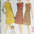 McCall 7890 jumper blouse size 14 UNCUT vintate 1965 sewing pattern