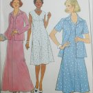 Simplicity 8401 dress size 40 jacket size 40 to 46 sewing pattern