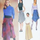 Butterick 3971 sewing pattern bias scarf like skirt sizes 12 14 16 UNCUT