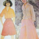 McCall 6170 sewing pattern misses shirt and culottes size 10 B 32 1/2 UNCUT
