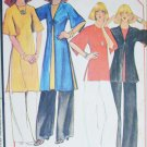 McCall 5341 sewing pattern misses jacket tunic pants size small 10 to 12 UNCUT