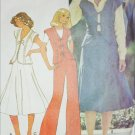 McCall 5520 sewing pattern misses top skirt pants vintage 1977 size 10 UNCUT
