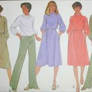 McCall 6176 sewing pattern misses dress top pants size small 10 to 12 UNCUT knits only