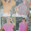 Simplicity 8574 sewing pattern misses pullover tops size 10 to 12 UNCUT