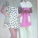 Simplicity 5467 vintage 1972 mini tent dress misses size 12 to 14 UNCUT