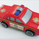 Buddy electronic fire chief plastic car makes siren sound