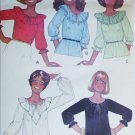 McCall 5913 sewing pattern misses blouses pullover ruffles size 10 UNCUT
