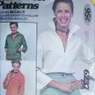 McCall 6237 Show Me sewing pattern misses blouse shirt size 8 10 12 UNCUT