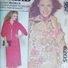 McCall 6205 show me sewing pattern misses dress top size 8 10 12 UNCUT