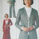 Simplicity 7786 sewing pattern misses jiffy skirt pants jacket size 10 UNCUT
