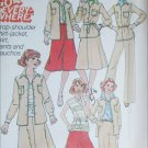 Simplicity 8105 sewing pattern skirt pants gauchos jacket size 10 UNCUT