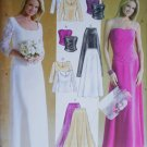 McCall 4375 sewing pattern prom wedding bodice skirt sizes 6 8 10 12 UNCUT