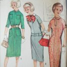 Simplicity 2610 vintage 1958 sewing pattern kimono sleeve dress size 8 B28