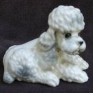 Vintage ceramic poodle dog from salt & pepper Japan