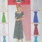 McCall 3129 sewing pattern princess seam dress 8 variatons sizes 12 14 16 UNCUT