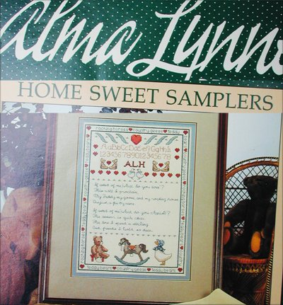 Cross stitch pattern booklet Alma Lynne Home Sweet Samplers
