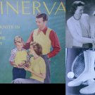Minerva 1943 knitting pattern booklet sweaters socks infant sets