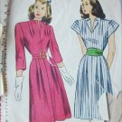 Simplicity 1552 vintage 1945 sewing pattern dress size 16 B34