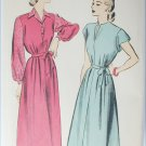 Advance 4932 vintage sewing pattern dress and blouse size 16 B 34 circa 1950s