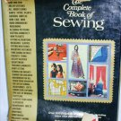 Complete Book of Sewing hardbound book 1972 basic instructions