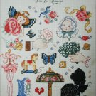 Cross stitch pattern leaflet Very Victorian Mini series 10 Leisure Arts 494