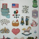 Cross stitch pattern leaflet Mini Motif Designs Country vol 3