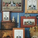Cross stitch pattern leaflet Our Towne Our Home