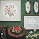 Cross stitch pattern Romantic Rose design leaflet 235