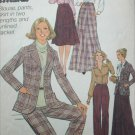 Simplicity 8245 sewing pattern jacket pants skirt blouse size 16 B38