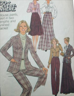 male pattern boldness: TWO Jacket Muslins: 1980's Simplicity vs
