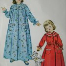McCall 9597 vintage 1950s sewing pattern girls robe size 4 b23